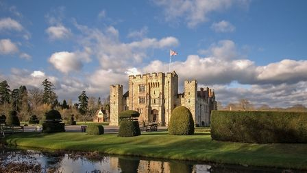 The B&B accommodation at Hever Castle is truly luxurious (photo: Manu Palomeque)