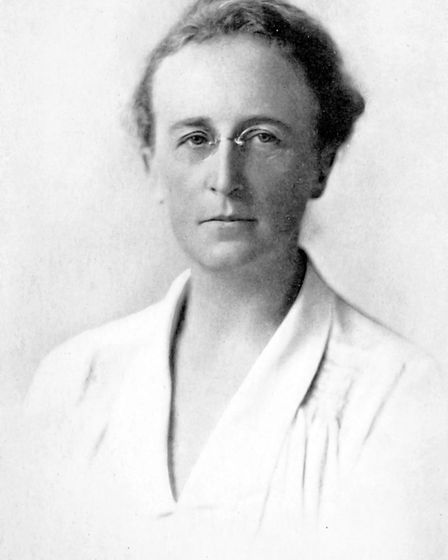 Miss Grace Hadow, the leader of Cirencester suffragists