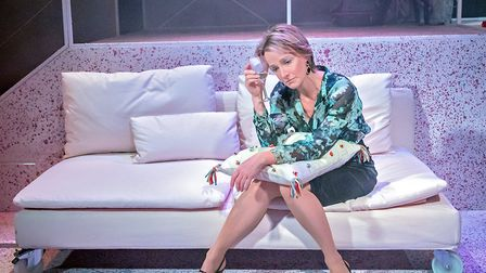 Johanne Murdock in The ToyBoy Diaries at Hope Mill Theatre
