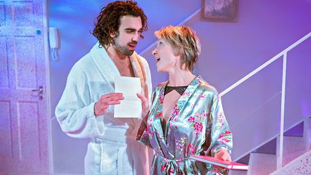 Sharif Afifi and Johanne Murdock: The ToyBoy Diaries, Hope Mill Theatre Manchester