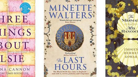 Three things about Elsie by Joanna Cannon; The Last Hours by Minette Walters; The Mermaid and Mrs Ha