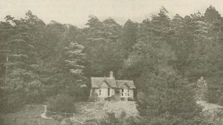 George Meredith's chalet at Box Hill. Historical and Public Figures Collection - New York Public Lib