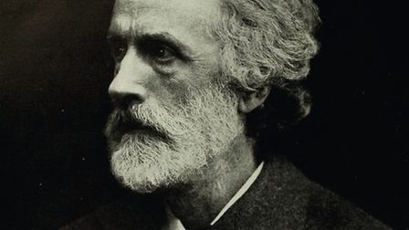 George Meredith in middle age
