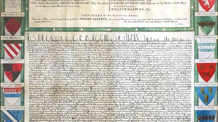 One of only four copies of the Magna Carta