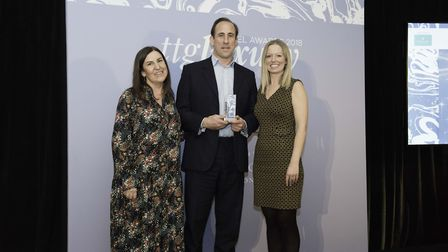Steppes Travel awarded the Contribution to Luxury Award at the ttgluxury Travel Awards (c) Steve Dun