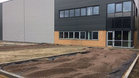 The development at Abingdon Business Park is nearing completion