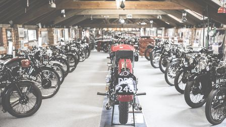 Sammy's bikes are part of the most comprehensive and varied collection of their kind