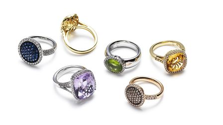 Olivia Grace cocktail rings