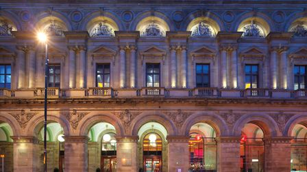 The elegant and historic Radisson Edwardian Hotel, Peter Street, Manchester - the former Free Trade
