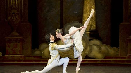 Pas de deux, Sleeping Beauty Princess Aurora and Prince Florimud, Birmingham Royal Ballet