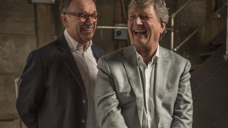 Chris Difford with Glenn Tilbrook (c) Rob O'Connor