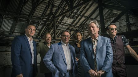 Chris Difford with Squeeze (c) Rob O'Connor