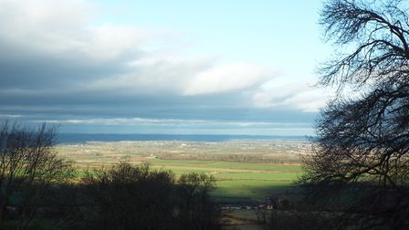 The view from Bredon Hill, Worcestershire