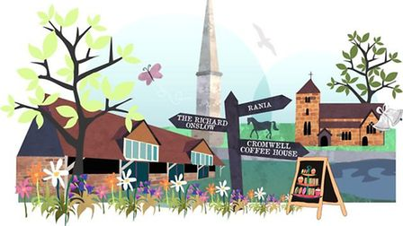 Cranleigh illustration by Emily Westwell