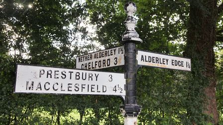 Alderley Edge is a popular place for walkers