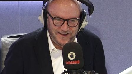 George Galloway appears on talkRADIO. Photograph: YouTube