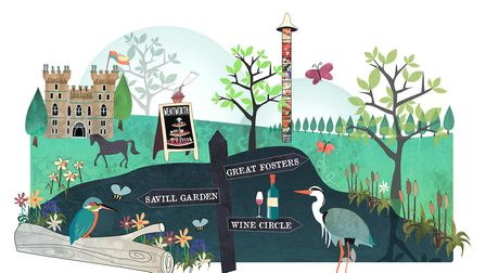 Virginia Water illustration by Emily Westwell