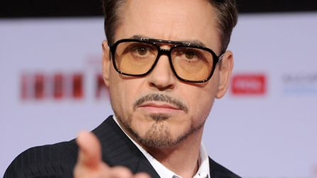 Robert Downey Jr. arrives at the premiere of Iron Man 3 (Photo by Kevin Winter/Getty Images)
