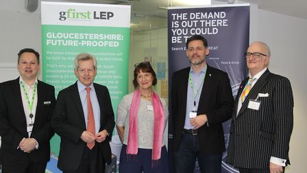 """""""We were delighted to host Richard Graham MP at the Growth Hub today for this export event,""""says Dav"""