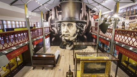 General view of the interior of Being Brunel, the new museum dedicated to Isambard Kingdom Brunel, o