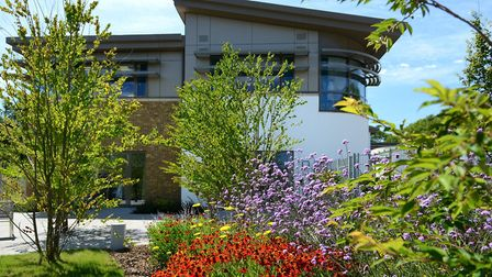 Hospice and wellbeing garden