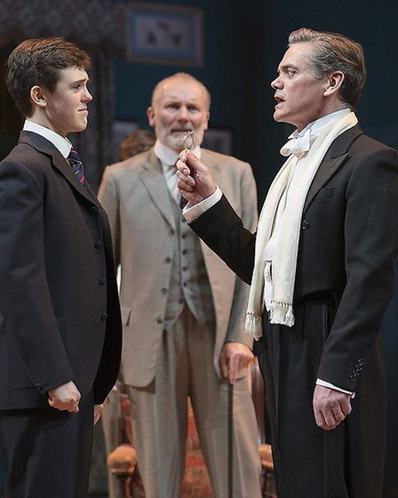 Misha Butler as Ronnie Winlsow, Aden Gillett as Arthur Winslow and Timothy Watson as Sir Robert Mort