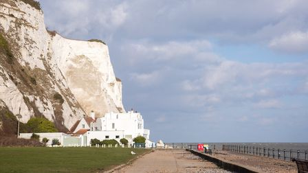 Ian Fleming's house beneath the White Cliffs at St Margaret's Bay (photo: Manu Palomeque)