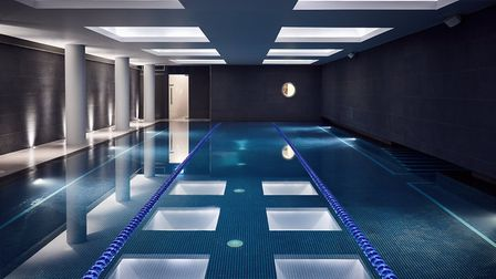 Third Space swimming pool at The Marylebone
