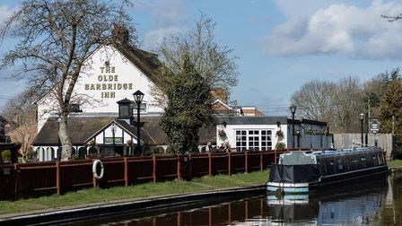 The Barbridge Inn is situated on the banks of the Shropshire Union Canal Photo: Christopher-Kennedy