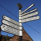 Frodsham is a popular starting point forn walkers travelling on the Sandstone Trail