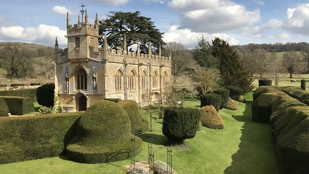 St Mary's Church at Sudeley Castle