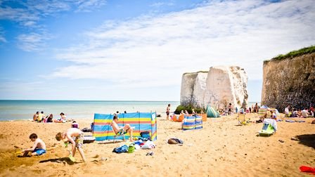 Botany Bay is one of 10 beaches awarded the pretigious Blue Flag award this year (photo: Michael Cam