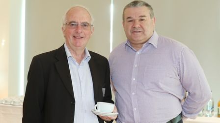 Ian Heather from HRML and Mike West from Natwest