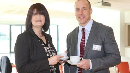 Tanya Ciriaco from Natwest and Adrian Hocking from Albright IP