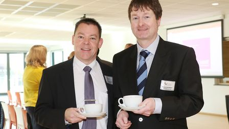 Shaun Scott from Natwest and Mark Devereux from Devereux & Co