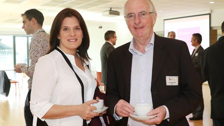 Ellen Roome from The Finance Roome and Ian Heather from HRML