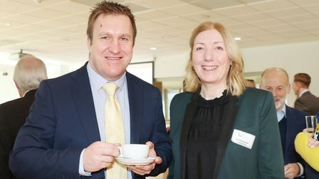Steve Moore from Natwest and Denise Finch from I-Commercial