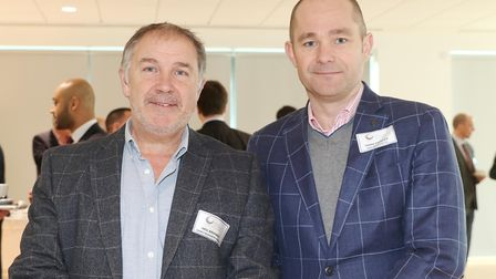 Neil Brimble from Abbey Business Group and Mark Powles from RRA Architects