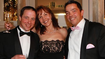 Siblings Jeremy, Annabel and James Strickland from Omega
