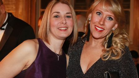 Louise Turner and Holly Kerr from Omega
