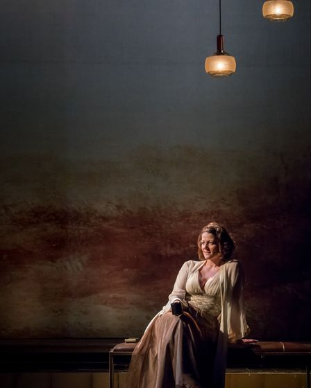 Mary Doherty as Charlotte Malcolm: A Little Night Music Credit: Mark Carline