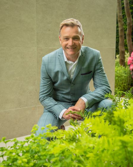 Chris Beardshaw picked up gold and Best in Show at this year's RHS Chelsea Flower Show for his Morga