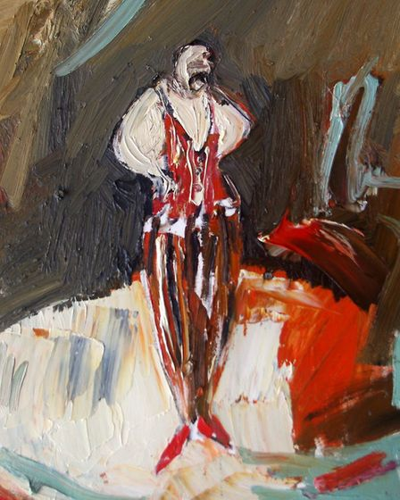 Campden Gallery: 'The Spanish Clown', by Paul Wadsworth