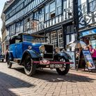 Historic cars will parade through the streets of Nantwich as part of the Weaver Wander (credit: Paul