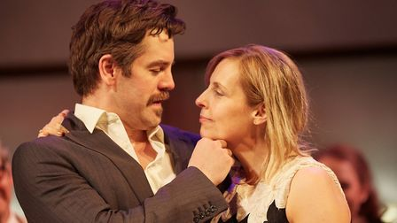 Much Ado About Nothing by William Shakespeare at The Rose Theatre, Kingston (Photo by Mark Douet)