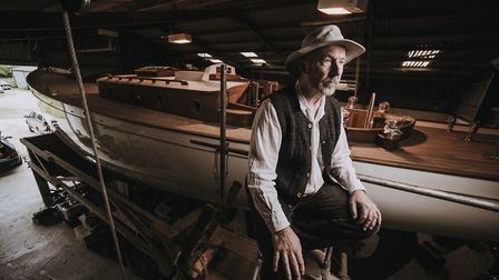 Boatbuilder Mike Ludgrove: 'Wooden boats naturally possess a living quality that plastic boats dont'