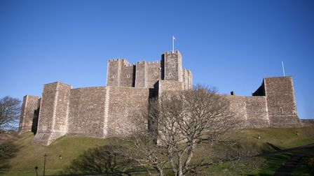 Dover Castle, the biggest and strongest of England's medieval fortresses (photo: Manu Palomeque)