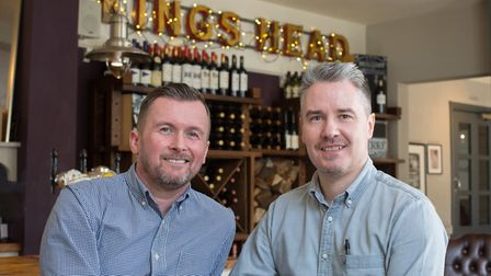 Scott Richardson and Mark Lightfoot: hosts with the most (photo: Manu Palomeque)