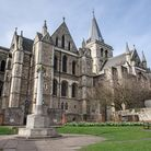 Rochester Cathedral has been a place of Christian worship since AD604 (photo: Manu Palomeque)