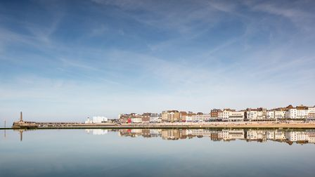 Margate''s sweeping harbour (photo: Manu Palomeque)